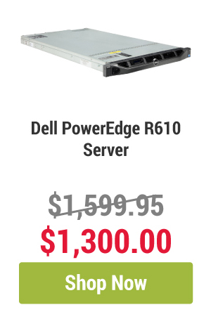 Dell PowerEdge R610 Platinum Series Server