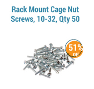 Rack Mount Cage Nut Screws
