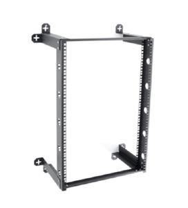Kendall Howard 16U V-Line Fixed Wall Rack