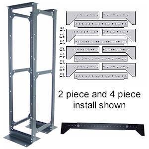 Kendall Howard 4 Piece Rack Conversion Kit