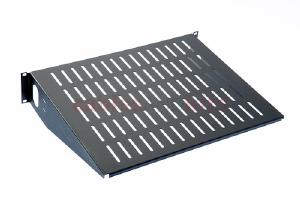 "LINIER Economy 2U Vented Rack Shelf - 14.75"" Depth"