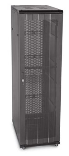 "LINIER 37U 19"" Cabinet with Vented Front and Rear Doors"