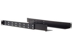 Gruber 19&quot;, 23&quot;, 30&quot; Rack Mount Adjustable Rails, Black