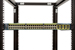 "Gruber 19"", 23"", 30"" Rack Mount Adjustable Rails, Black"
