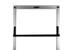 "19"" Rack Mount Shelf, CPU Shelf, Black, 2 Piece Shelf"