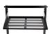"""19"""" Rack Mount Shelf, Cantilever, Vented, Black"""