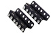 2RU Rackmount Swinging Patch Panel Mounts
