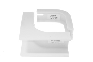 Cable Raceway Inside Corner Fit, White, 1.25""