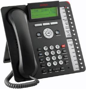 Avaya 1416 Sixteen Line Digital Phone, Black, NEW