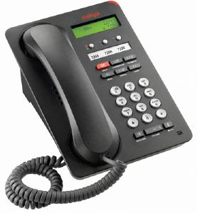 Avaya 1403 Three Line Digital Phone, Black, NEW