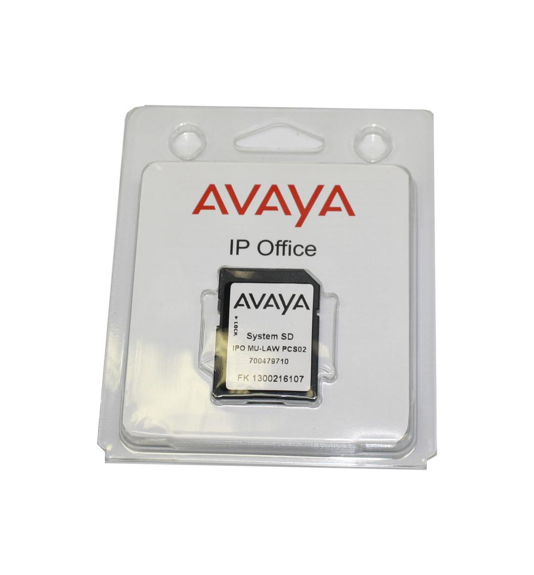 Avaya IP500 V2 System SD Card - Mu-Law Version, NEW