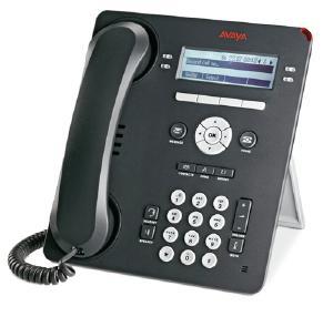 Avaya 9504 Four Line Digital Phone, Charcoal, NEW