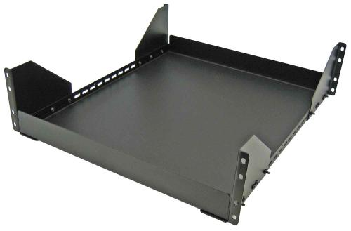 "Great Lakes 19"" 1RU Rack Mount Shelf, 20.75"" Deep"