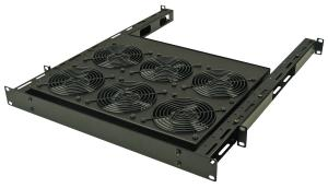Great Lakes 2U Adjustable Fan Assembly w/ Six 75 CFM Fans