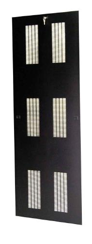 "Great Lakes Locking Vented Side Panels for 84""H x 32""D Enclosure"