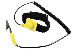 Cables Unlimited Anti-Static Wrist Strap With Grounding Clip