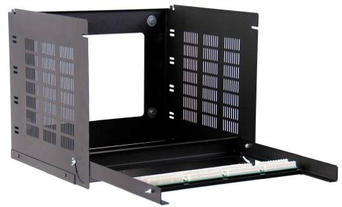 Great Lakes 8U Tilt Panel Wall Mount Rack