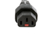 Automatic Locking AC Power Cord, C13 to C14, 18 AWG, 2'