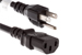 AC Power Cord, 5-15P to C13, 16 AWG, 2', Black