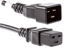 AC Power Cord, C20 to C19, 14 AWG, 6ft, Black