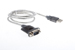 USB to Serial (DB9) Converter Cable, 3'