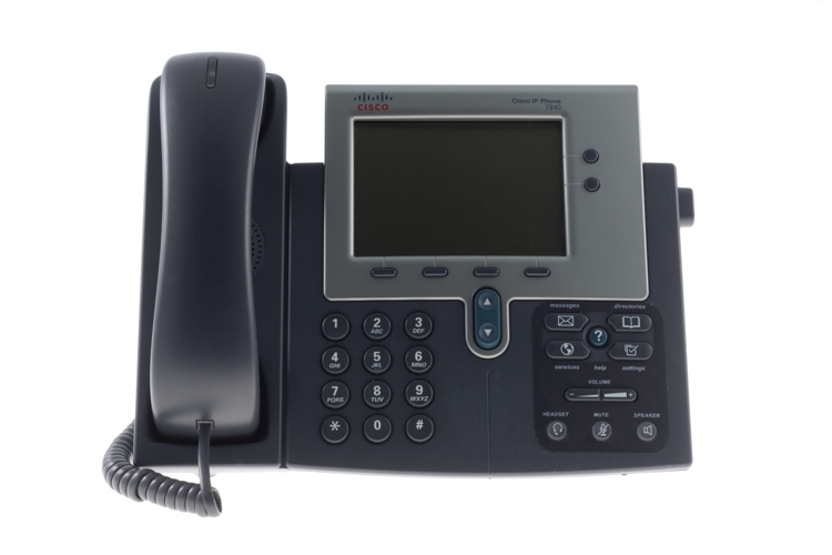 Cisco 7940G Two line Unified IP Phone (SIP), CP-7940G