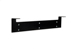 1U Vertical Hanging Wall Mount Bracket, Black, 19