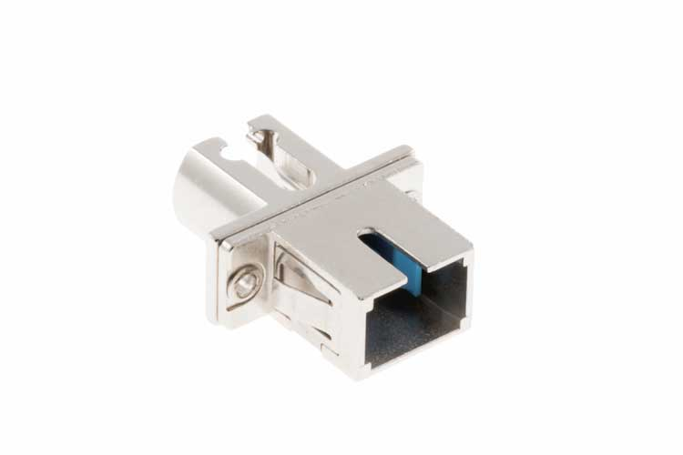 LC-SC Multimode Simplex Fiber Optic Cable Adapter