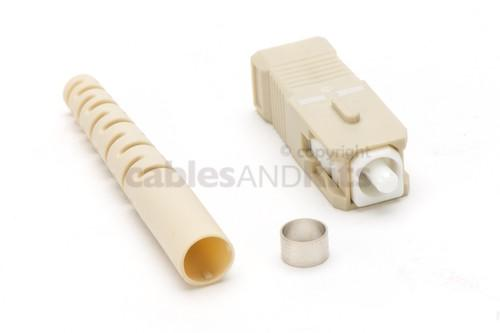 SC/PC Multimode Fiber Optic Cable Connector