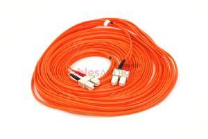 SC-SC Multimode Duplex 62.5 Premium Ceramic Fiber Cable, 20M