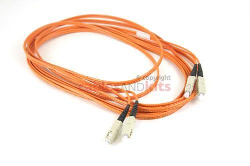 SC-SC Multimode Duplex 62.5 Premium Ceramic Fiber Cable, 5M