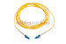 LC to LC Singlemode Simplex 9/125 Fiber Patch Cable, 3 Meters
