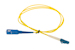 LC to SC Singlemode Simplex 9/125 Fiber Patch Cable, 1 Meter