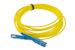 SC to SC Singlemode Simplex 9/125 Fiber Patch Cable, 4 Meters