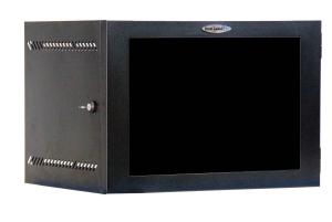 Great Lakes 7U 19&quot; Wall Mount Cabinet with Plexiglas Door