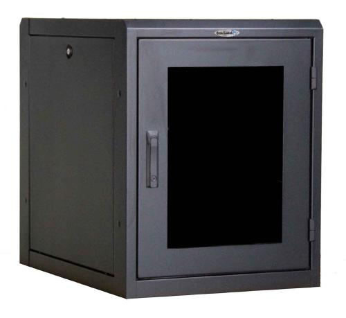 Great Lakes 13U Complete Wall Enclosure w/ TPE-24S Solid Top