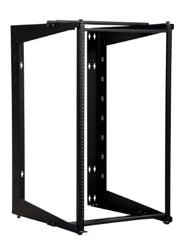 "Great Lakes 19U Swinging Wall Mount Rack, 22"" Deep"
