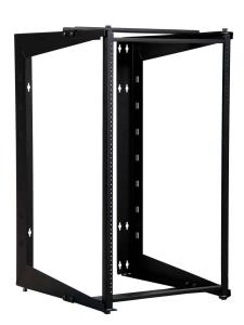 Great Lakes 19U Swinging Wall Mount Rack, 22&quot; Deep