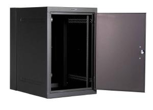 Great Lakes 18U WD Series Wall Mount Rack with Solid Door