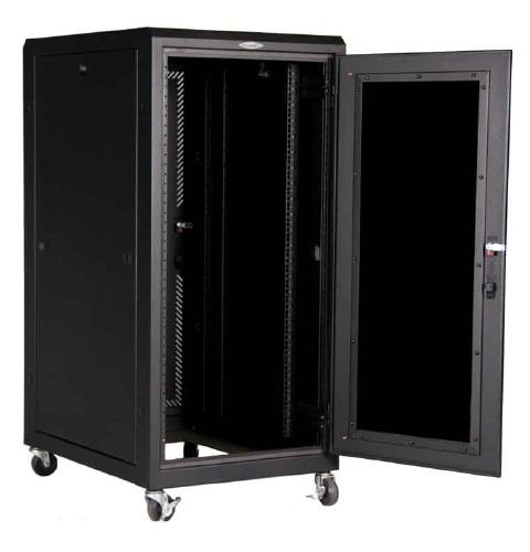 Great Lakes 24U Complete Enclosure with TPE-24S Solid Top