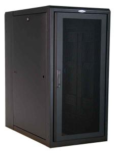 Great Lakes 24U Enclosure with Solid Top/Sides & Mesh Doors