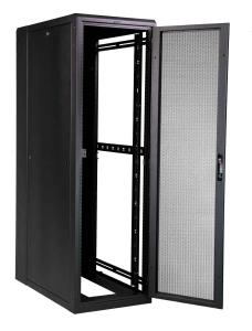 Great Lakes 41U Enclosure-Mesh Front Door &amp; Split Mesh Rear Door