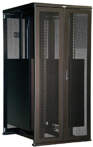 "Great Lakes 45U Rack-40""Wx48""D, Split Front/Rear Door, M6 Rails"