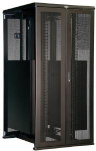 "Great Lakes 45U Rack - 40""Wx48""D, Split Doors, 12-24 Rails"