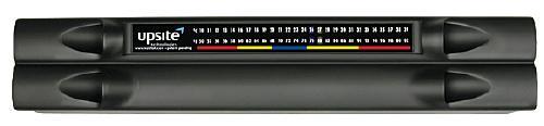 Upsite HotLok 2U Snap-In Filler Panel w/ Temperature Strip (5)