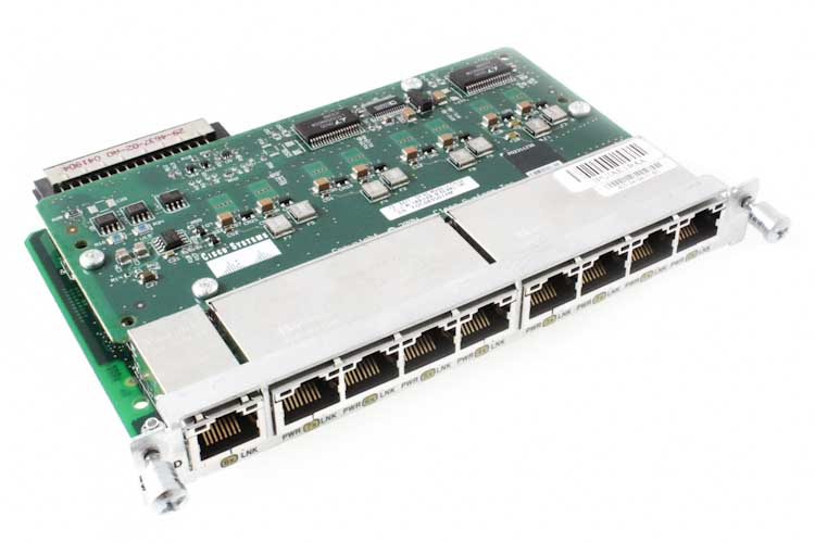 Cisco 9-Port 10/100 EtherSwitch HWIC Module with PoE, NEW