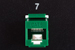 Cat6 RJ45 110 Type Keystone Jack, Green