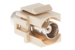 Keystone Snap In BNC Type F/F Module, Ivory