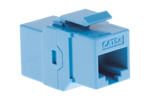 Cat5e RJ45 Inline Coupler Type Keystone Jack, Blue
