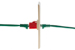 Cat5e RJ45 Inline Coupler Type Keystone Jack, Red